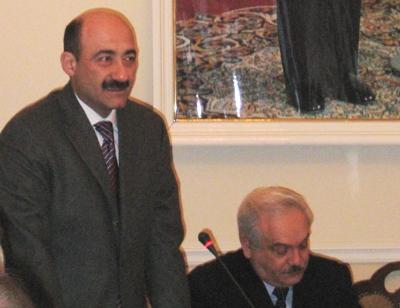 культуры и туризма Азербайджанской Республики А.М. Караев