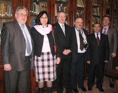 В Президентской библиотеке Азербайджанской Республики