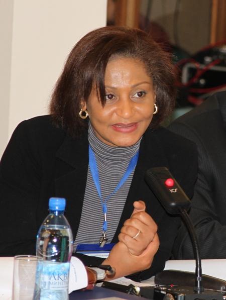 Анн Мари Пейин Конан, исполнительный директор Центра правительственной информации и коммуникации, Кот д'Ивуар
