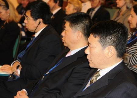 Делегация Китая на Первом совещании национальных комитетов Программы ЮНЕСКО