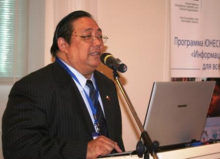 Анхель Тимотео Диаз Де Ривера, член Комиссии по информационным компьютерным технологиям Филиппин