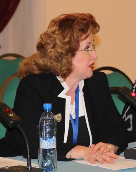 Луминица Друмя, заместитель Генерального секретаря Национальной комиссии Республики Молдова по делам ЮНЕСКО