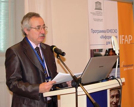 Е.И. Кузьмин, председатель Российского комитета Программы ЮНЕСКО