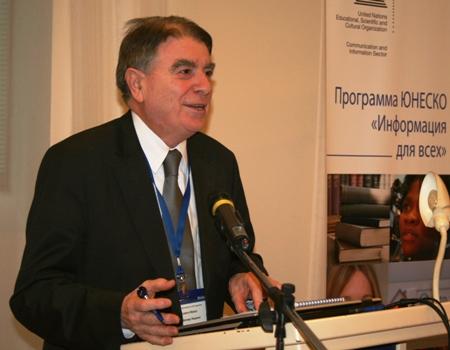 Людовит Молнар, профессор Технологического университета Словакии, председатель Национальной комиссии Словакии по делам ЮНЕСКО
