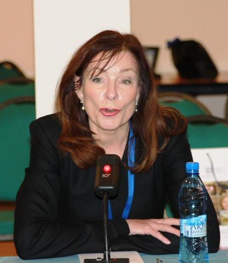 Верена Метце-Мангольд, директор фильмофонда Радиокомпании Hessischer Rundfunk