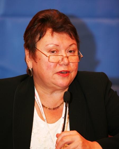 Н.А. Сомова, начальник Управления культуры Брянской области
