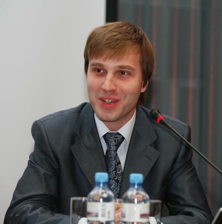 А.Н. Воропаев приветствует участников конференции от имени Федерального агентства по печати и массовым коммуникациям