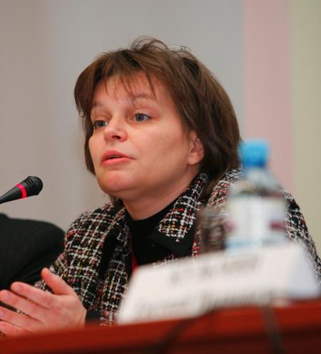 Е.Э. Чуковская, заместитель Министра культуры РФ