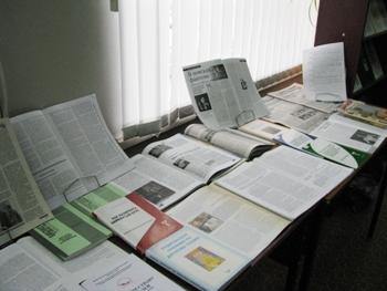 Книжная выставка на Форуме
