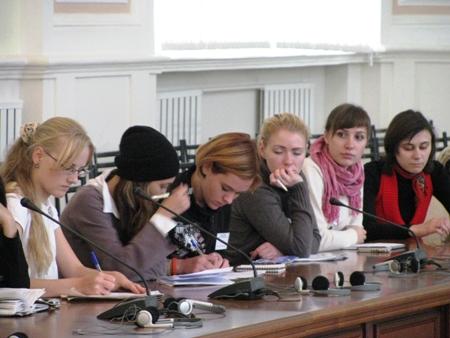 Участники секции «Библиотечная блогосфера – современная  технология работы с молодыми  читателями»
