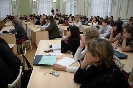 Участники III Научно-практической конференции «Медиаобразование молодежи в информационном обществе»