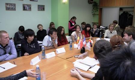 Секция «Медиаобраз России в глазах иностранных студентов и преподавателей»