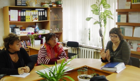 Обследование ПЦПИ в Межпоселенческой центральной библиотеки Очерского муниципального района