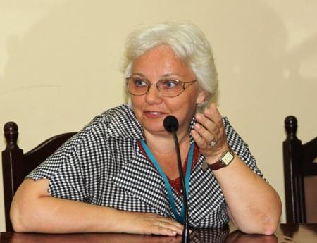 О. К. Громова, главный редактор газеты «Библиотека в школе» издательского дома «Первое сентября»