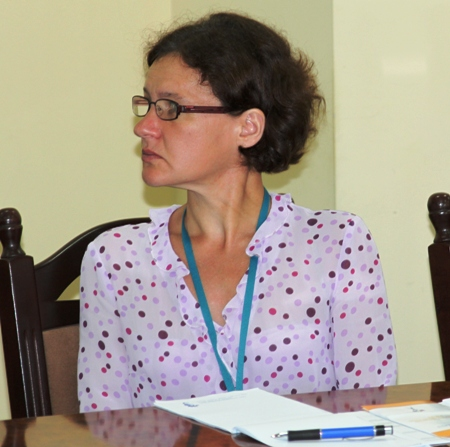 В. В. Ялышева, председатель Секции по чтению РБА, старший научный сотрудник научно-методического отдела библиотековедения Российской национальной библиотеки
