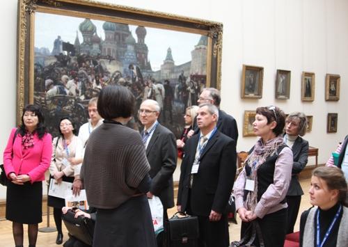 Экскурсия по Третьяковской галерее