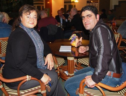 Т. А. Мурована и Мехди Алипур Хафези
