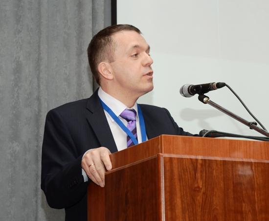 Генеральный директор Российской национальной библиотеки А. В. Лихоманов