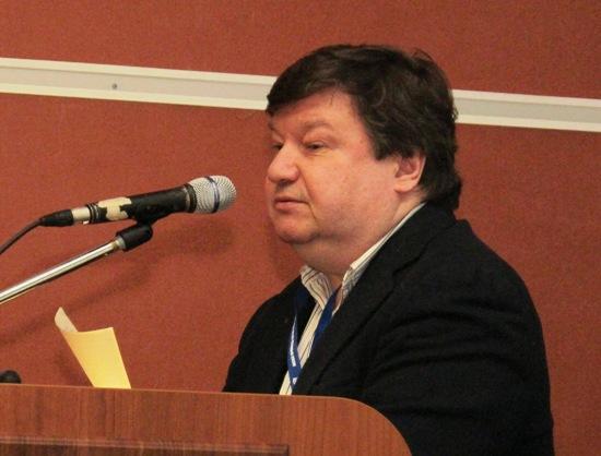Президент творческого объединения ЮНПРЕСС С. Б. Цымбаленко