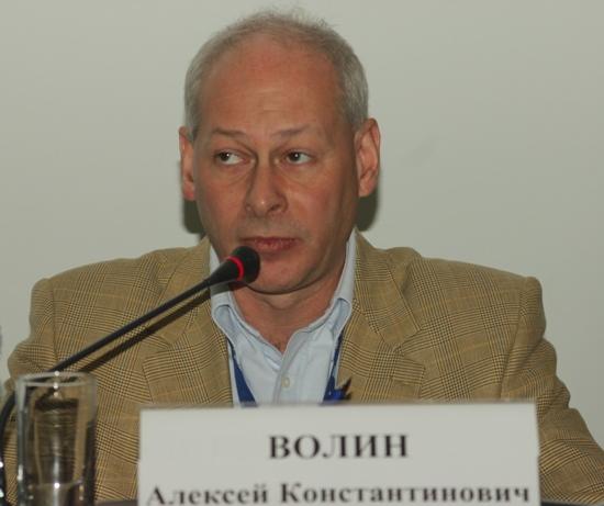 Заместитель министра связи и массовых коммуникаций А. К. Волин